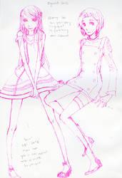 Sketchdump:eureak and anemone