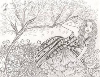 Into de red queen castle by Lorelei2323