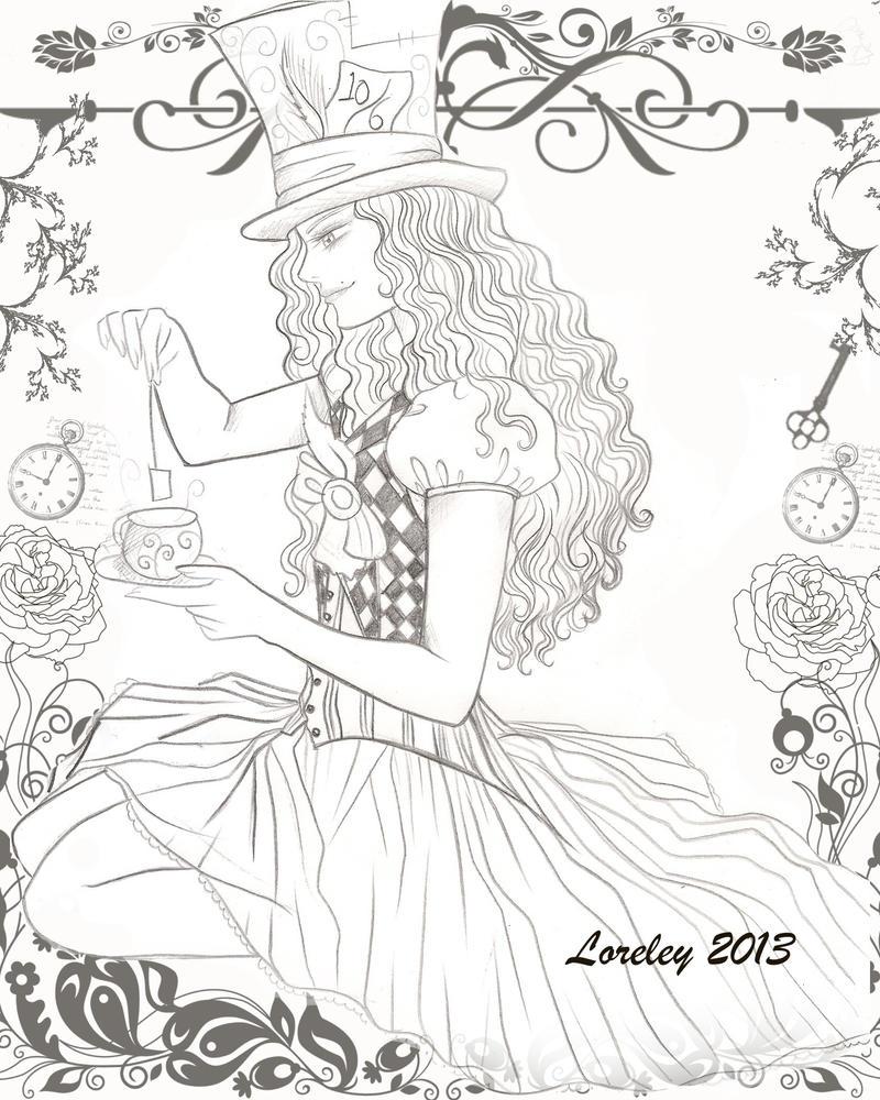 Tea Time by Lorelei2323