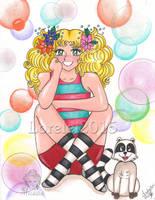 Candy y Clin_color by Lorelei2323