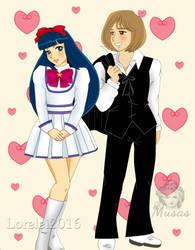 Annie y Archie by Lorelei2323