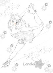 Candy skating by Lorelei2323
