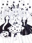 Georgie, Usagi y Candy - hechizo