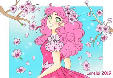 Candy cherryblossom by Lorelei2323