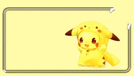 Pikachu wallpaper PSVITA by geekyemoKun