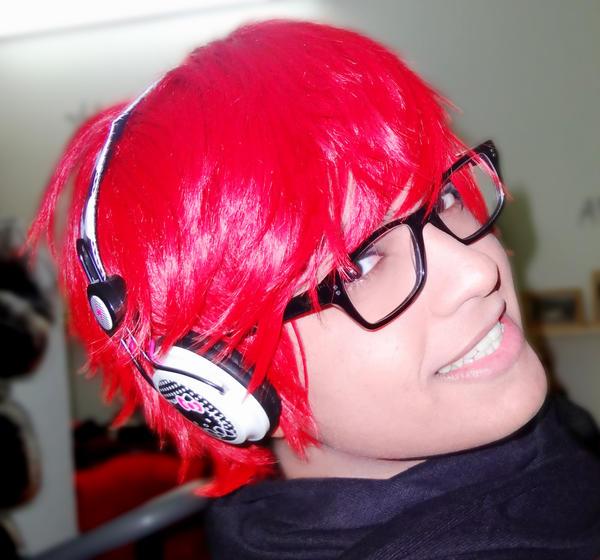 m so red :'3 by geekyemoKun