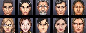 Tycoon portraits by iSohei