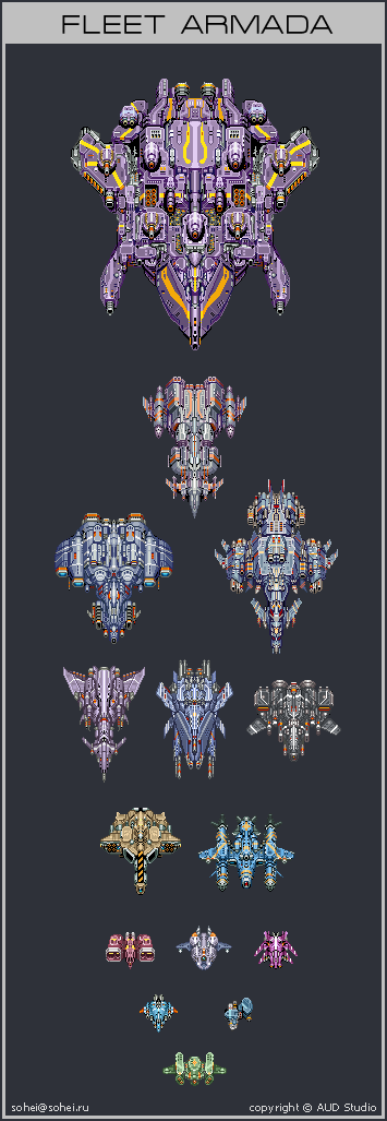 Fleet Armada by iSohei