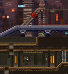 Night City and Army Base level mockup