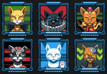 Cat Criminals by iSohei