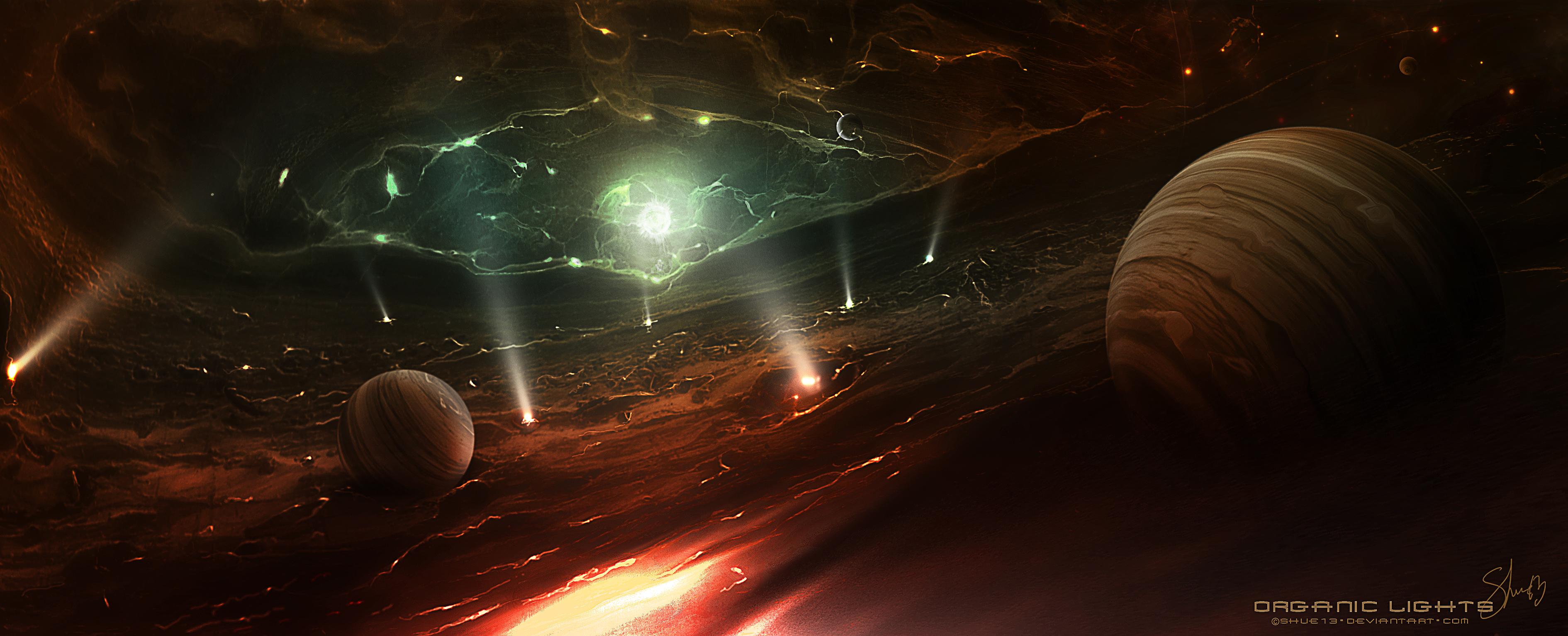 Organic Lights by Shue13