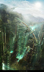 The Valley Of Gaia by Shue13