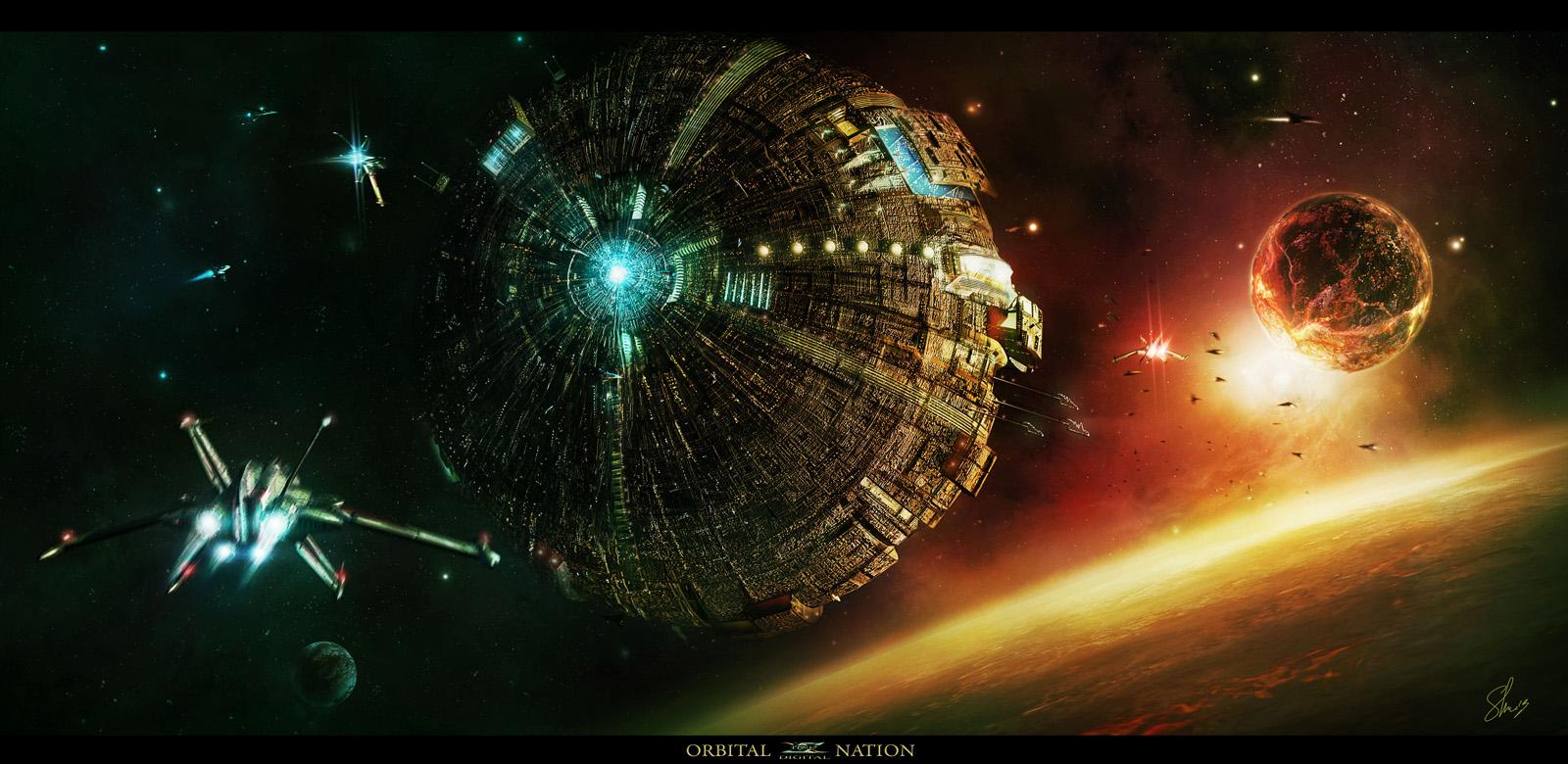 Orbital Nation by Shue13