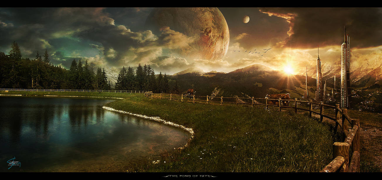 The Pond Of Fate by Shue13