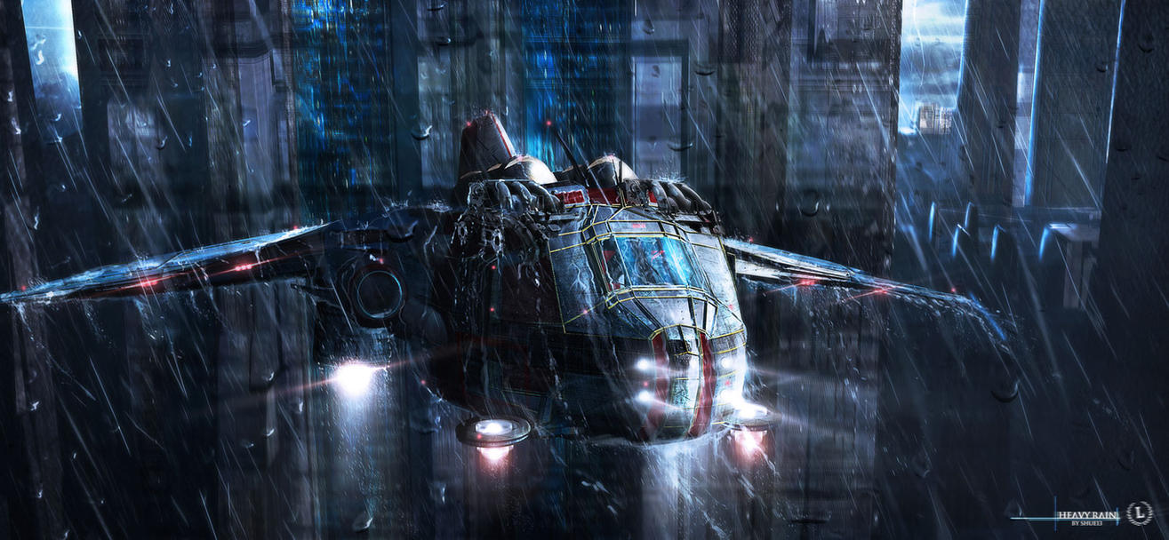 Heavy Rain by Shue13