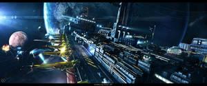 The Refiller Cargo Terminal by Shue13