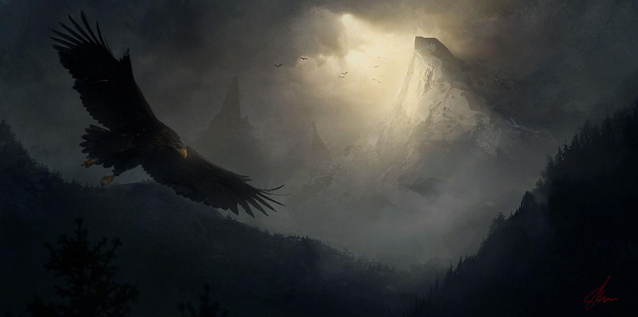The Eagle's Peak by Shue13