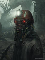 A Slave Miner From 2089 by Shue13