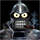 Cylon Bender Avatar by PZNS