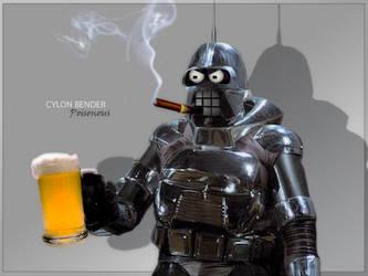 Cylon Bender by PZNS