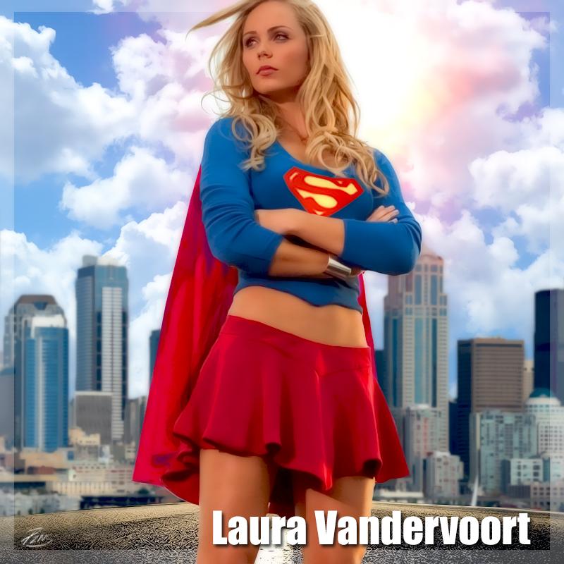 Laura Vandervoort Supergirl by PZNS