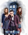 Dr Who 2 Companions Color