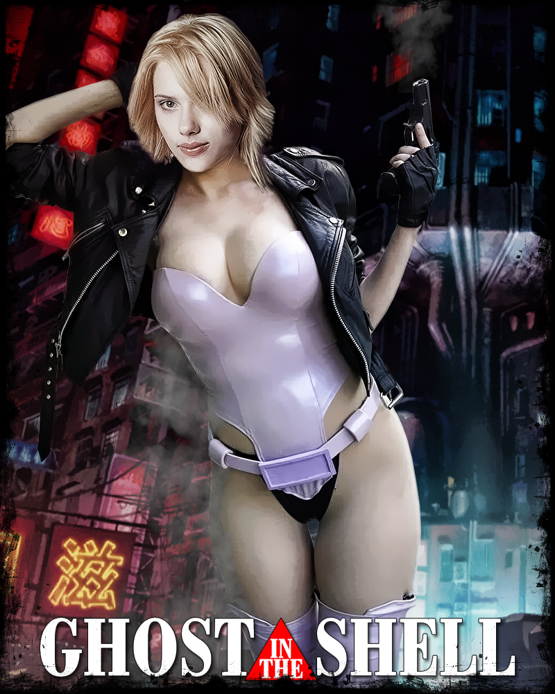 Scarlett Johansson Ghost In The Shell By Pzns On Deviantart
