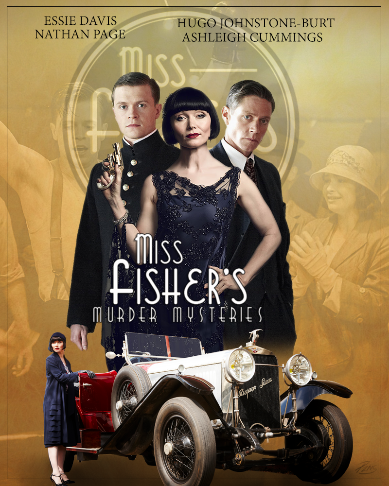 Miss Fisher´s Murder Mysteries Temporada 2 Completa Espa&ntildeol Disponible