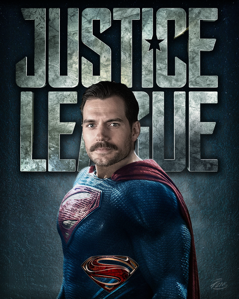 Henry Cavill As Superman In Justice League By PZNS