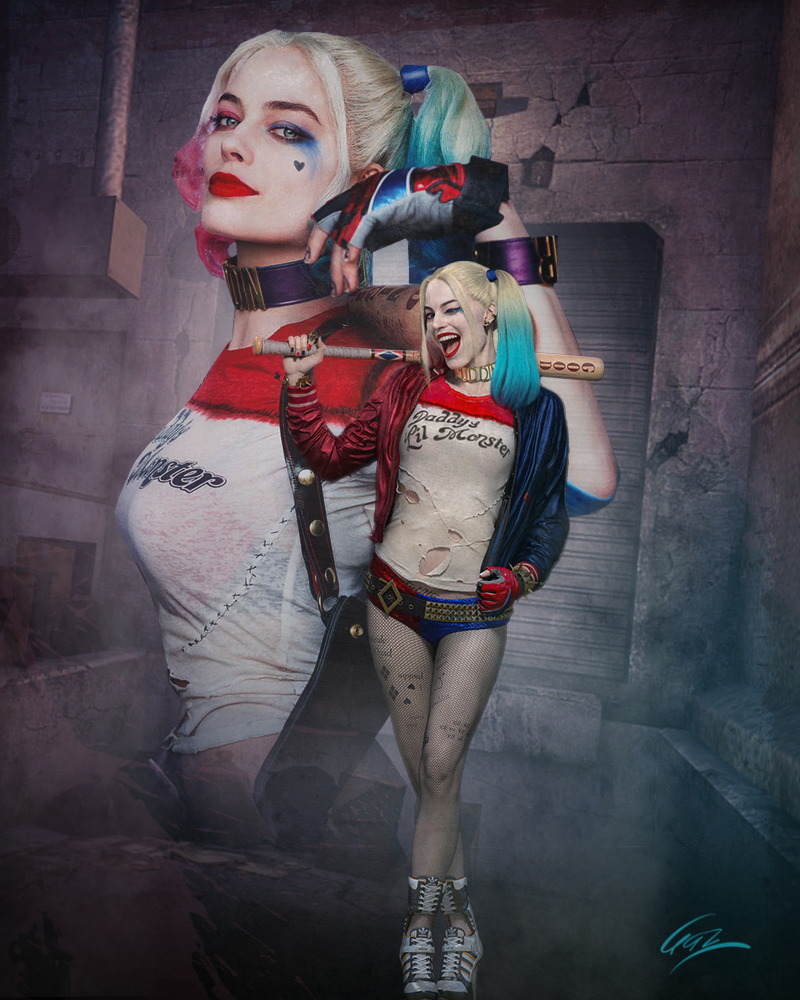Harley Quinn Poster by PZNS