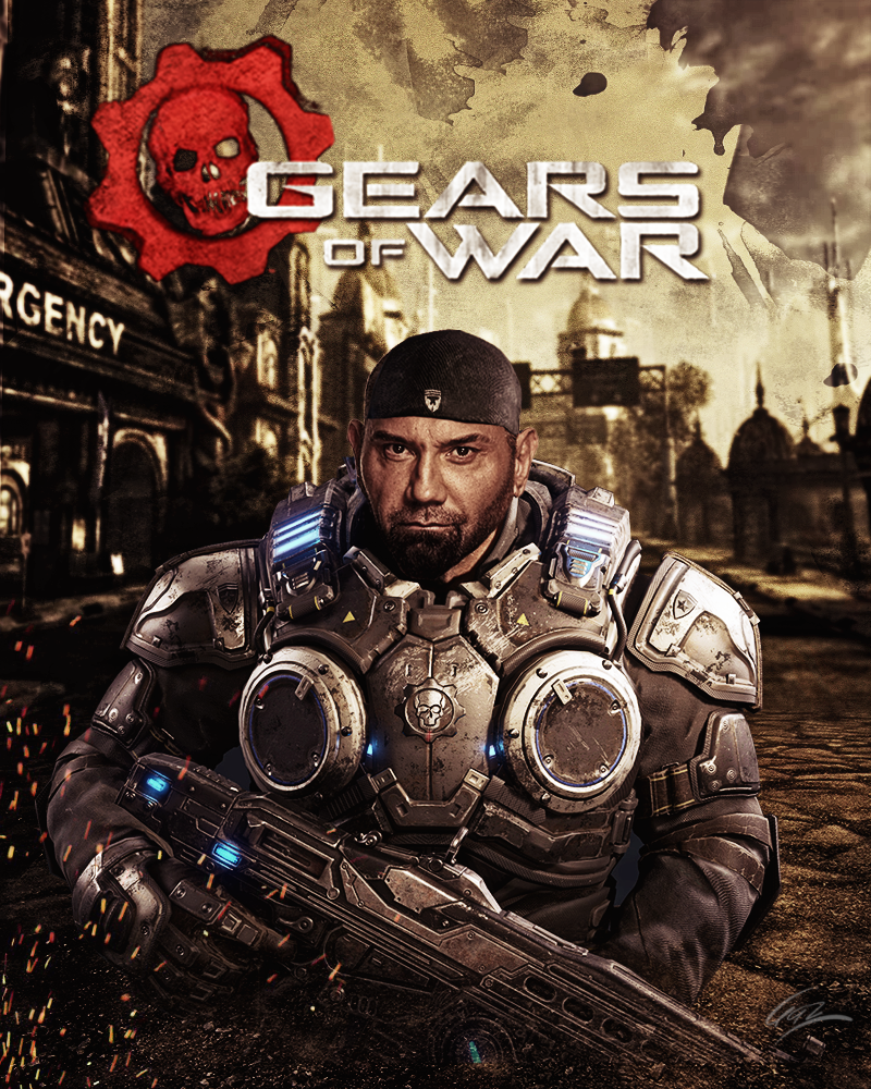 Gears of War with David Bautista by PZNS