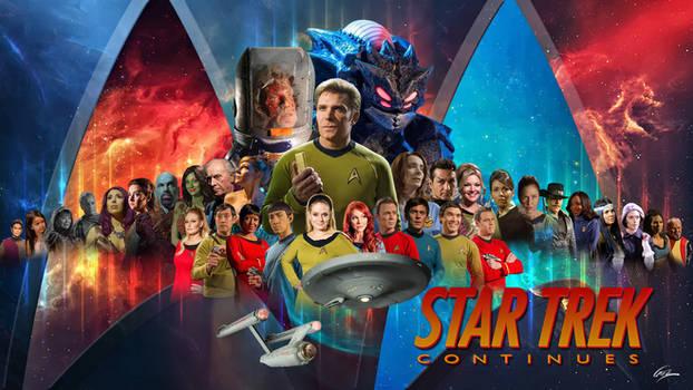 Star Trek Continues Wallpaper