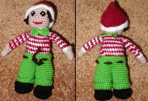 Olaf the christmas elf by zahlenfreak