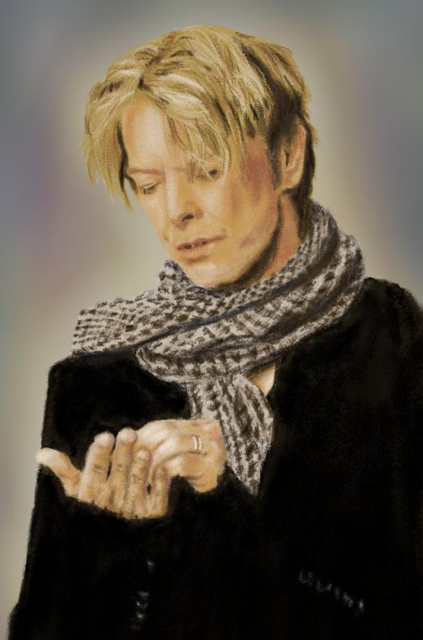 David Bowie by zahlenfreak