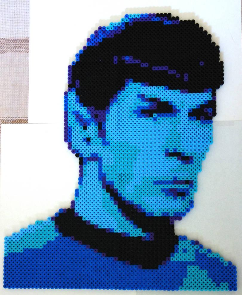 Mr. Spock by zahlenfreak