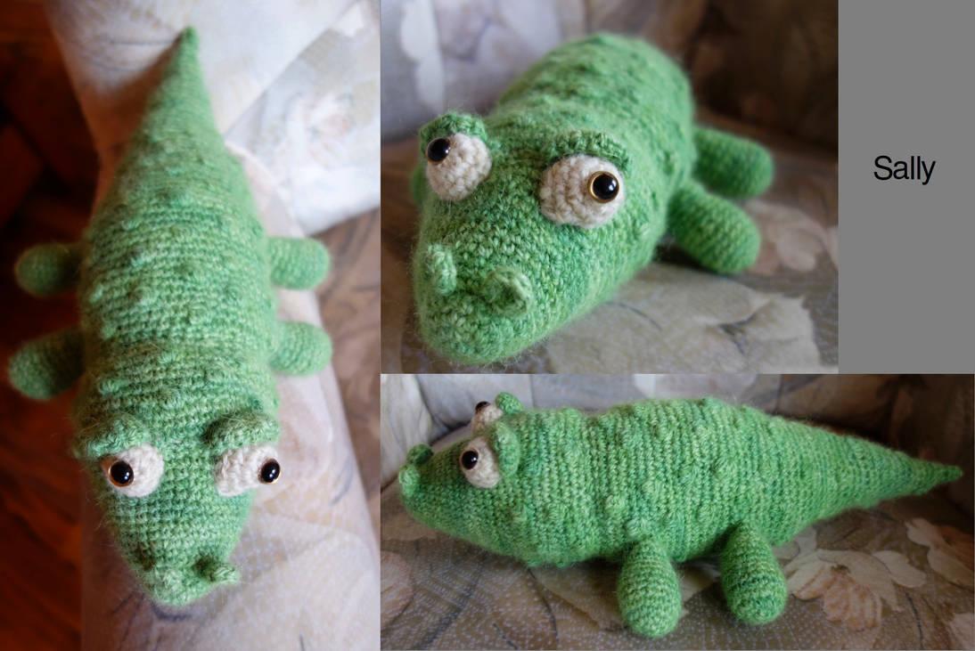 Sally the crocodile by zahlenfreak