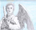 The fussy angel by zahlenfreak
