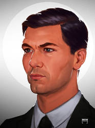 Sterling Archer by fah-qeu