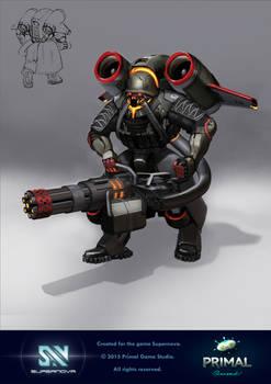 Supernova Commander Legatus Karnel Afterburner
