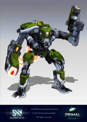 Supernova Commander Mackwell concept