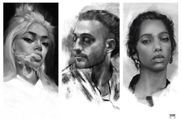 Portrait Studies