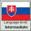 Slovak Intermediate stamp by Tarin-san