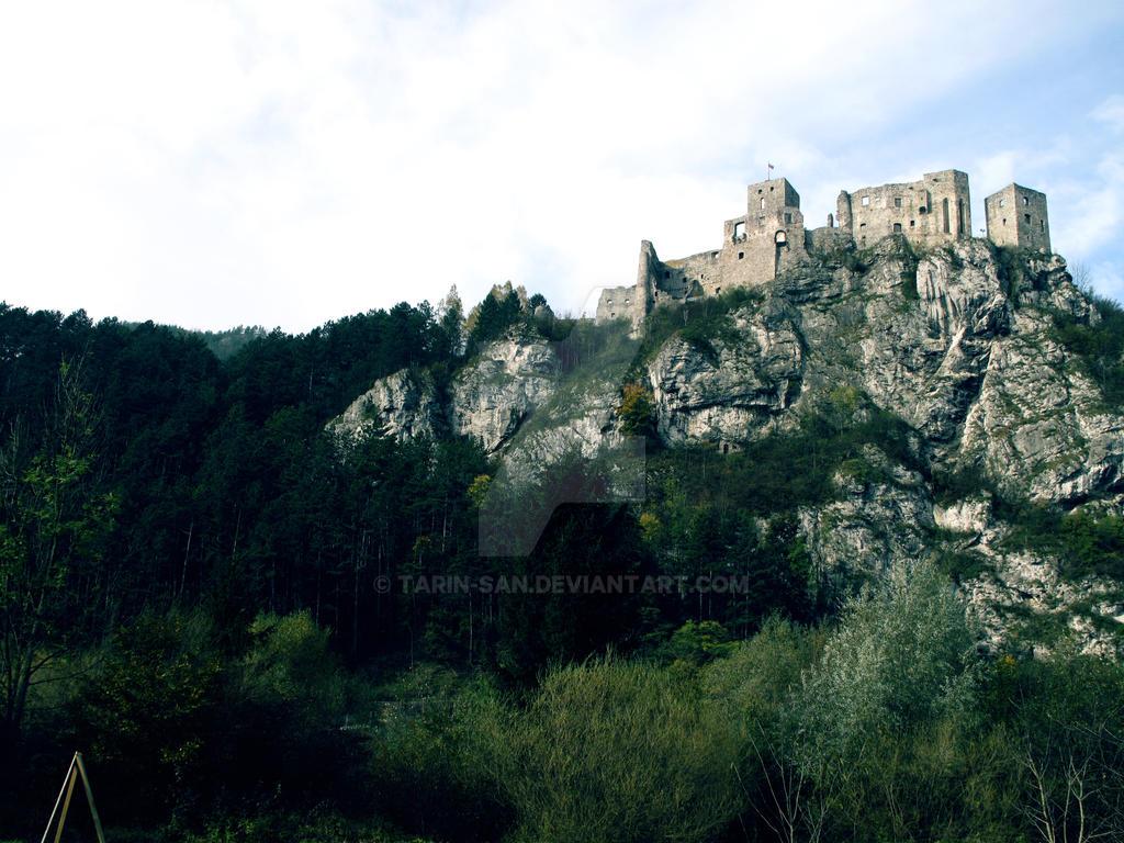 Strecno Castle -The  Dragonheart by Tarin-san