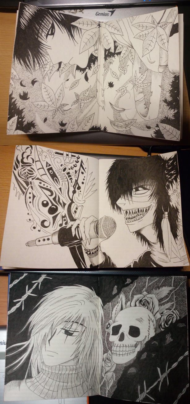 Doodlebook by Tarin-san
