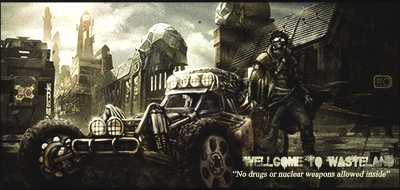 WELLCOME TO THE WASTELAND by x-Rayzen-x