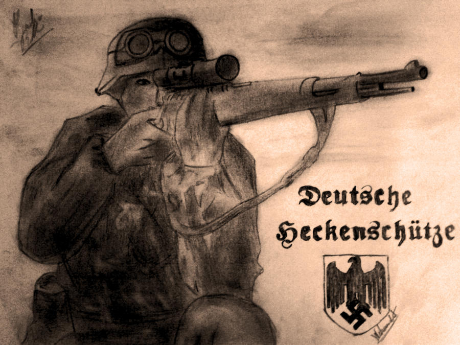 German sniper wwii by adolfgalland on deviantart german sniper wwii by adolfgalland altavistaventures Image collections