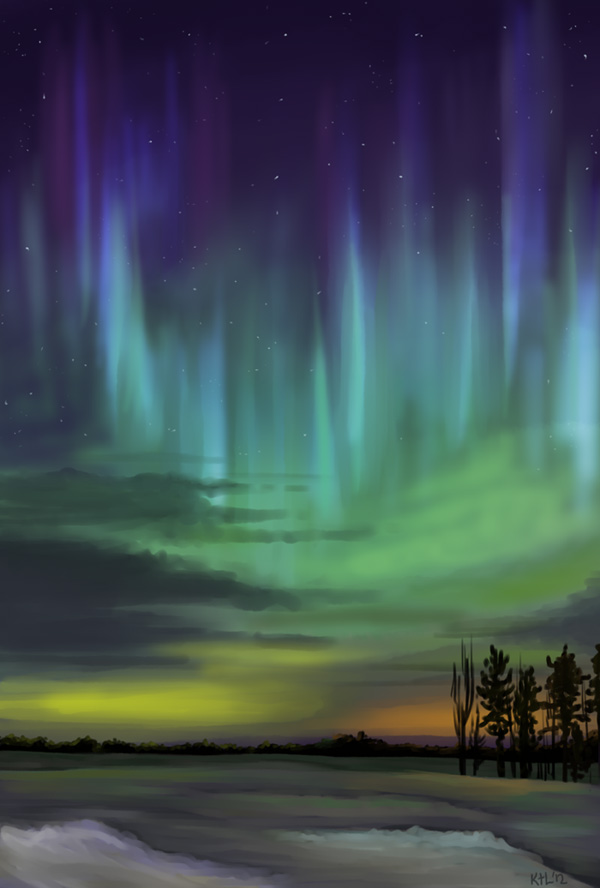 Northern Lights by Greykitty