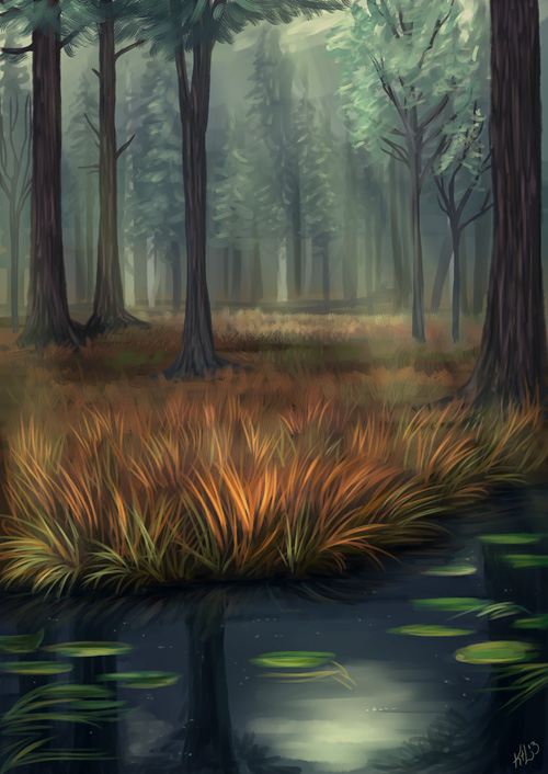 Forest by Greykitty