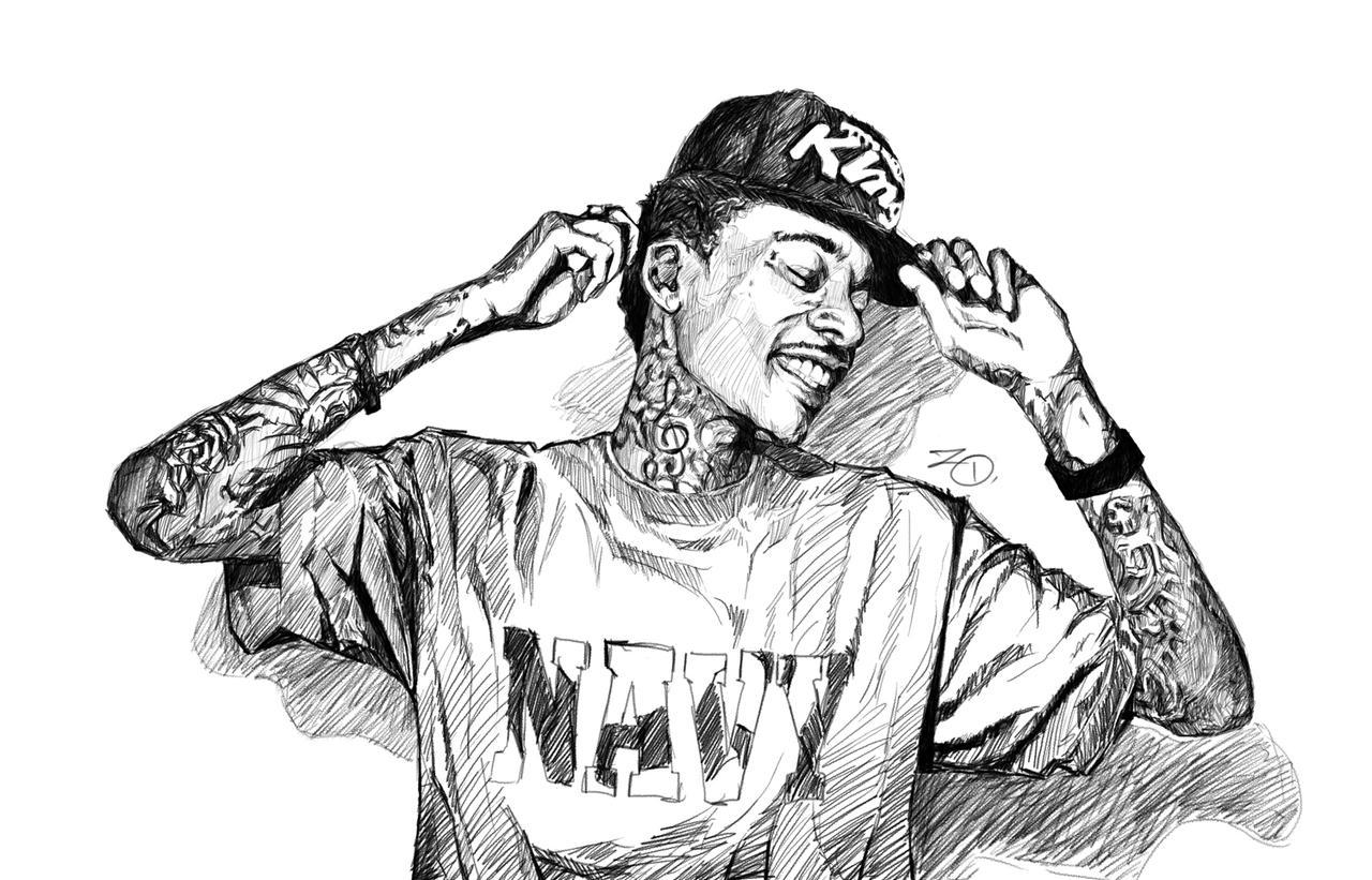 How To Draw Wiz Khalifa