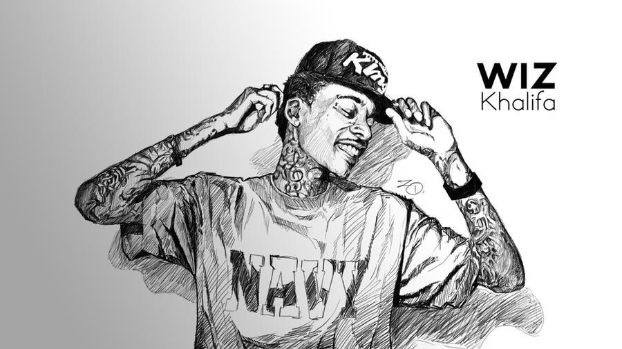 Wallpaper Wiz Khalifa By ToToDost